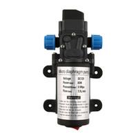 Wholesale Automatic Pressure Switch - DC 12V 80W Electric Diaphragm Water Pump Automatic Switch 131 PSI High Pressure Car Washing Spray Water Pump 5.5L Min J35C37