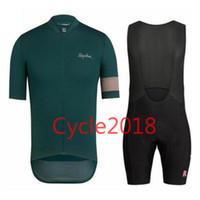 tour france cycling jerseys sets venda por atacado-Rapha equipe verão 2017 Tour de France jersey de ciclismo Anti UV bib shorts set MTB bicicleta desgaste roupas Ropa Ciclismo pro roupas de ciclismo