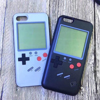 Wholesale case for iphon - 2018 hot 3D Silicone Russian game Retro Game Phone Back Game case TPU for iPhon 6 7 8 X Cover Protective Shell Black White