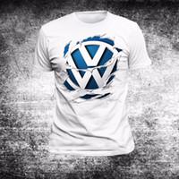 Wholesale Passat Tdi - 2018 Hot Sale T-Shirt Tiguan, Passat, Touran, Shar ,TDI, GTI GOLFS Berlin FUN 12 Summer Style Tee shirt
