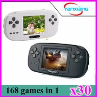 Wholesale pvp video game resale online - 30pcs Handheld Video Game Console Retro Game Player perfect gift YX XK PVP