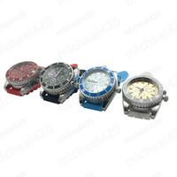 Wholesale Gentleman Watches - A Gentleman StyleTop Brand Wrist Watch shape Grinder 2 layers Tobacco Grinder mini Herb Crusher Metal Hot sale