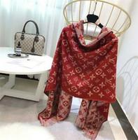 Wholesale paris pashmina scarf online - Top Paris Design V fashion Tassels style Cashmere Scarf cotton Pashmina scarfs for womens womans printing winter Wool Scarves