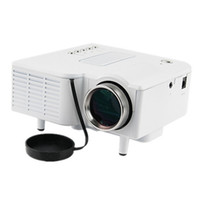 Wholesale video card gaming for sale - Group buy Video Projector UC28B Popular Hot LED Projectors Portable Durable Support TF Card Teaching Home Theater Cinema Gaming Black White