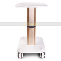 Wholesale iron cart - Eu tax free Beauty Spa Iron Handle Stand Assembled Iron Trolley Roller Cart For Cavitation Slimming Lipo Laser Machine Stand for Display