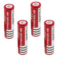 Wholesale lithium batteries for digital cameras for sale - Group buy Ultrafire Battery Lithium Rechargeable Batteries High Drain Discharge for LED Torch Flashlight Digital Camera Bicycle LED Headlight