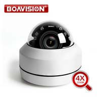 ingrosso fotocamera esterna a inclinazione della pan pan esterna-Telecamera IP 1080p PTZ Speed Dome 5MP Full HD Onvif Zoom 4X P2P 40m IR Night Vision Impermeabile P2P 2MP Outdoor Dome POE PTZ IP Cam