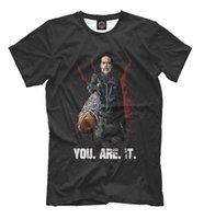 ingrosso rosa rosa caratteri rosa-T-shirt Negan - The Walking Dead personaggio tee You are it bianco nero grigio rosso pantaloni tshirt suit cappello rosa t-shirt