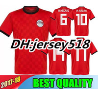 Wholesale egypt shirts for sale - 2018 world cup Egypt Soccer Jersey Thai  quality M SALAH d0367780d