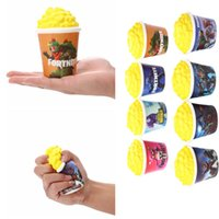 Wholesale cute ice cream accessories for sale - Game Fortnite Squishy Toys Slow Rising Jumbo Toy Popcorn Ice Cream Squeeze Bun Soft Cute Decompression Toys Relieve Anxiety Kids Toy New