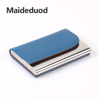 Wholesale chocolate metal - Hot sale Aluminium Credit card wallet cases card holder,bank card case wallet Black(5 colors available)Free shipping