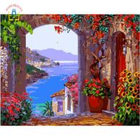 Vendita all\'ingrosso di sconti Dipinti Ad Olio Paesaggi Marini Della ...