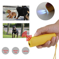 Wholesale High Quality in Anti Barking Stop Bark Ultrasonic Pet Dog Repellent Training Device Trainer Banish Training with LED Light