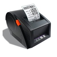 Wholesale printer office - New 80mm barcode label printer 3120TU support QR code thermal sticker printers used for supermarket business office