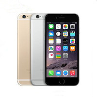 apple iphone großhandel-Entsperrt original Apple iPhone 6 ohne Fingerabdruck 4.7 Zoll Dual Core 16G / 64G / 128GB Rom IOS 8MP Kamera generalüberholte Handy