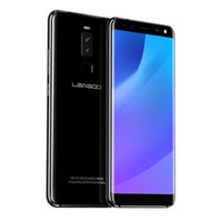 Wholesale leagoo phone online - LEAGOO S8 Inch Edge Less Display Android MTK6750T Octa Core GB RAM GB Cameras Fingerprint G Phone