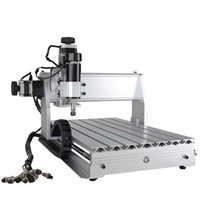 cnc vida makinesi toptan satış-CNC 3040 Z-DQ 4-axis CNC Router Engraver Topu Vida Kesme Freze Sondaj Gravür Makinesi Mimi CNC 3040 500 W USB Bağlantısı