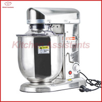 Wholesale Electric Food Mixers - Home use or commercial use 7, 10 Liters electric stand food mixer, planetary cooking mixer, egg beater, dough mixer machine