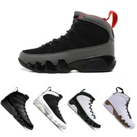 Wholesale pe basketball - 2018 Newest 9 9s men basketball shoes sports 2010 RELEASE Bred Lakers PE OG space jam high Black white High shoes sneaker 41-47