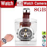 dv saatler toptan satış-Yeni moda su geçirmez Izle Iğne Deliği Kamera 720 * 480 8 GB 16 GB Bilek İzle MINI DV DVR Spor İzle Kamera