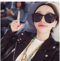 388fa45509 round faces women sunglasses Canada - Without makeup large-frame harajuku  eyeglasses women Korean version