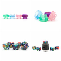 Wholesale atomizer goon for sale - Group buy 810 Drip Tip Resin Colorful Wide Bore Drip Tips Mouthpiece Fit Goon Kennedy AV Battle Apocalypse Pyro RDTA RDA RTA Atomizer Hot Sale