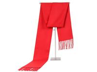 ingrosso stole in seta nera-Sciarpa autunno inverno Wrap Man Donna lungo sciarpe collo nappe tenere caldo Festival regalo di colore puro moda