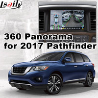 Wholesale video lvds - 360 panorama & rear view interface for Nissan Pathfinder 2017 top model etc LVDS RGB signal input cast screen video play GPS