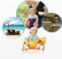 Wholesale Dining Car - Baby Sack Seats Safety Chair Harness Belt Fastener for Dining Eat Feeding Travel Car Seat KKA4309