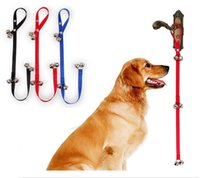 Wholesale Pet Dog Training Dog Doorbell Rope Housetraining and Communicate Alarm Door Bell for Dogs and Cats Adjustable