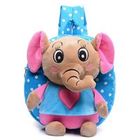 Kid Cartoon Elefante Mochila Kids Kindergarten Cute Schoolbag Baby Girl Children School Bags Mochila Escolar Gift Boa qualidade