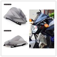Wholesale Yamaha Fz - Motorcycle Windshield Windscreen Pare-brise Smoke For YAMAHA MT07 MT-07 FZ-07 2014 2015 2016