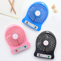 Electric Personal Fans Hand Fans Battery Operated Rechargeable Handheld Mini Fan Hand Bar Desktop