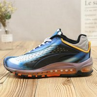Wholesale branding process - Brand New 97 Running Shoes Dyeing Process 99 3D Sport Shoes Men And Women Shoes Casual Sports Sneakers Size 36-44