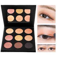 фабрика порошковой косметики оптовых-Factory Direct Newest Matte Shimmer Eyeshadow Palette Waterproof Easy to Wear Eyeshadow  Beauty  Kit