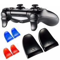набор игровых приставок оптовых-1 пара/комплект L2 R2 триггер расширенные кнопки комплект для PlayStation PS4 контроллер