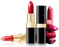 Wholesale moisture lipsticks online - High quality color abundance wild fruit color setting lipstick embellish lipgloss Lasting moisture