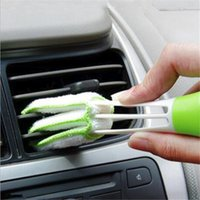 Wholesale computer keyboard dusting brush for sale - Group buy Keyboard Cleaning Brush Pocket Brush Keyboard Dust Collector Air condition Cleaner Window Leaves Blinds Cleaner Duster Computer Clean Tools