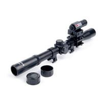 juguetes de revistas al por mayor-Gel Ball Gun Wbb Blaster Gun Vista holográfica 4X20 Laser rojo Combinación de la vista 11mm Ranura para tarjeta Vista de la ranura