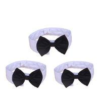ingrosso colletto di bowtie-Cotton Bowtie Collar Cute Regolabile Cravatta per cani Resistente Durevole Eco Friendly Cucciolo Cravatta Top Quality 4 71jz B