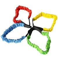 Wholesale Game Tie - LeadingStar Two-Person Three-legged Elastic Ropes Sport Tie Rope Feet Running Race Kids Game Co-op Training Game Outdoor Toys