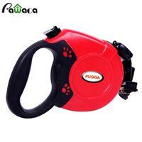 Wholesale Retractable Belt Dog Leash - Led Dog Leash Rope Nylon Belt Retractable Automatic Extending Pet Supplies Running Walking Leads for Medium Large Dogs 5m 8m