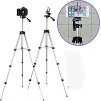 mikro tekli kamera toptan satış-Tripodlar Cep Telefonu Tripod Alüminyum Alaşım Gece Balıkçılık Işık Teleskop Kamera Tripod Fotoğrafçılık Evrensel Mikro Tek Braketi