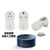 interruptor de salida controlado a distancia al por mayor-Smart Wifi Itead Socket Switch EE. UU. EE. UU. Plug Control remoto Wifi enchufe inteligente Outlet Interruptor de sincronización para Smart Home Automation