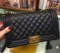 Wholesale sheepskin handbags - Designer Luxury Handbags Female Messenger Bags Chain Women sheepskin caviar Bag cc Cross Body Famous Brand girl le boy Shoulder Bag sell gg