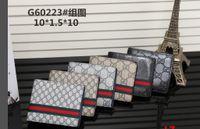 material de tarjetas al por mayor-Cartera de estilo europeo Hombres de la moda monedero mini carteras de material de pu Multi-card monederos abiertos 02