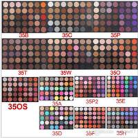 freie nackte palette großhandel-35 farben Naked Lidschatten-palette Kosmetik Matt / Glitter Augen Make-Up Bunte Lidschattenpulver palette Freies Verschiffen