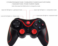 s3 spiel groihandel-Gen Game S3 Wireless 3.0 Bluetooth Gamepad Fernbedienung Joystick PC Game Controller für Smartphone / Tablet