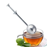 Wholesale tea for sale - Brand New Stainless Steel Tea Infuser Filter Strainer Ball for Loose Leaf Tea Hot Sales Free DHL XL-178