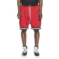kanye west mode großhandel-kanye west angst vor gott retro shorts mode männer sommer sportbekleidung casual elastische lose hip hop jogger jogginghose kurze hosen